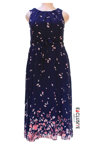 Madison Leigh Floral Printed Summer Dress