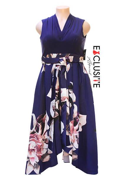 slny-womens-v-neck-floral-printed-mikado-skirt-party-dress