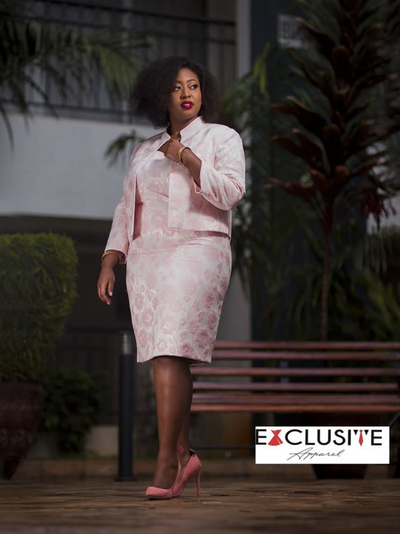 Kasper Subtle Pink Floral Print Jacket Dress