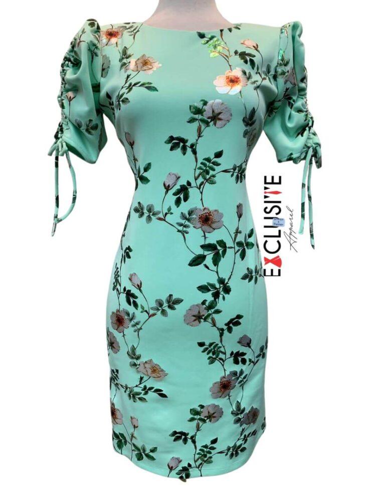 Shelby & Palmer Floral Sheath Dress Mint
